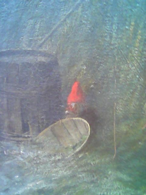 Utsnitt fra Kittelsens 'Pike og nisse', 1881