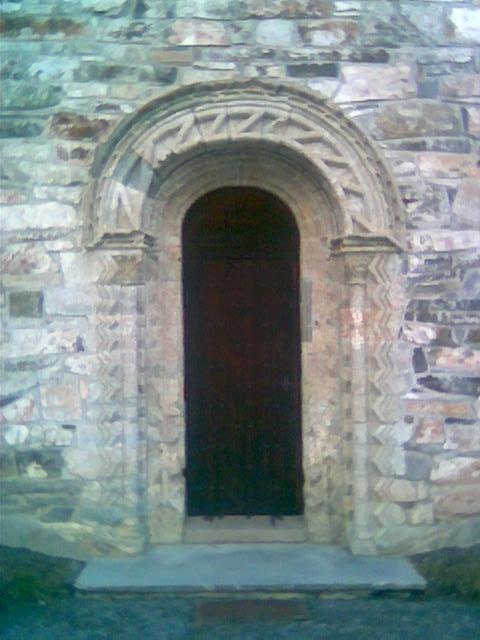 Stiklestad kirke, portal