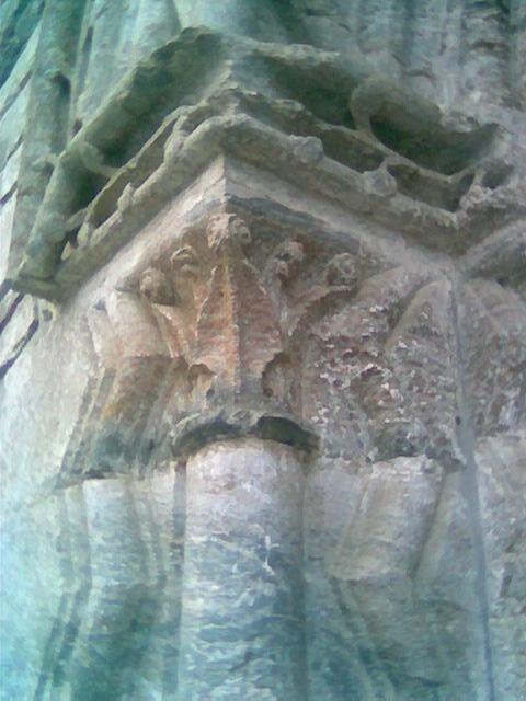 Stiklestad kirke, detalj fra portal 2