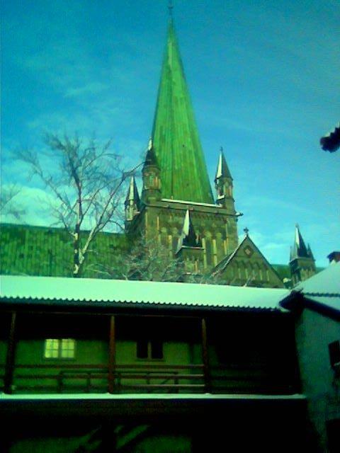 Erkebispegården og Domkirken, a