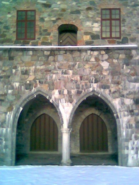Portal i Erkebispegården