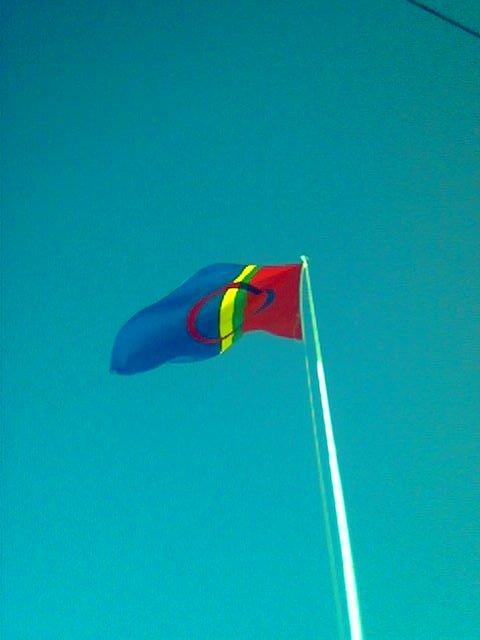 Flagging på den samiske nasjonaldagen, 6. februar