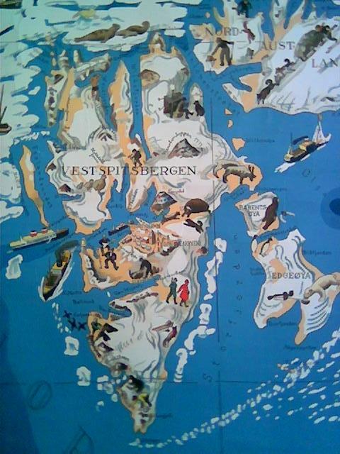 Spitsbergen :: Oppunder iskanten på 80 grader nord ligger Svalbard