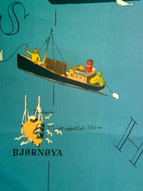 Kanskje en tur til til Bjørnøya?