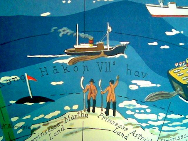 Hvalfangst i Haakon VIIs hav. To sløyere står på iskanten, klare til innsats for konge og fedreland?