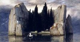 Böcklins 'Toteninsel' (De dødes øy)