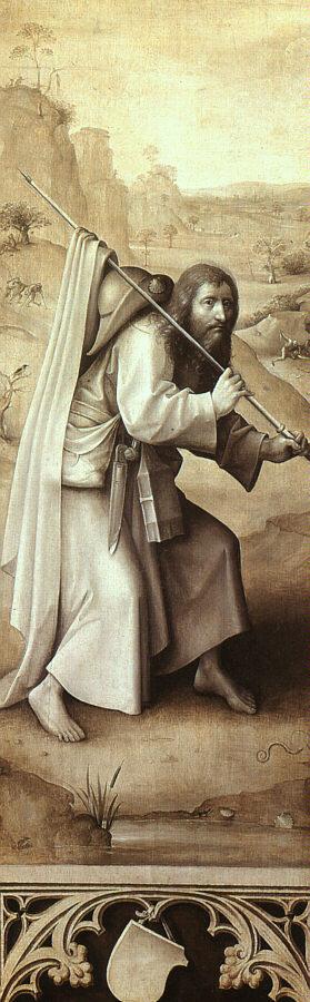 * Bosch si tolking av Kristus på veg til Golgata