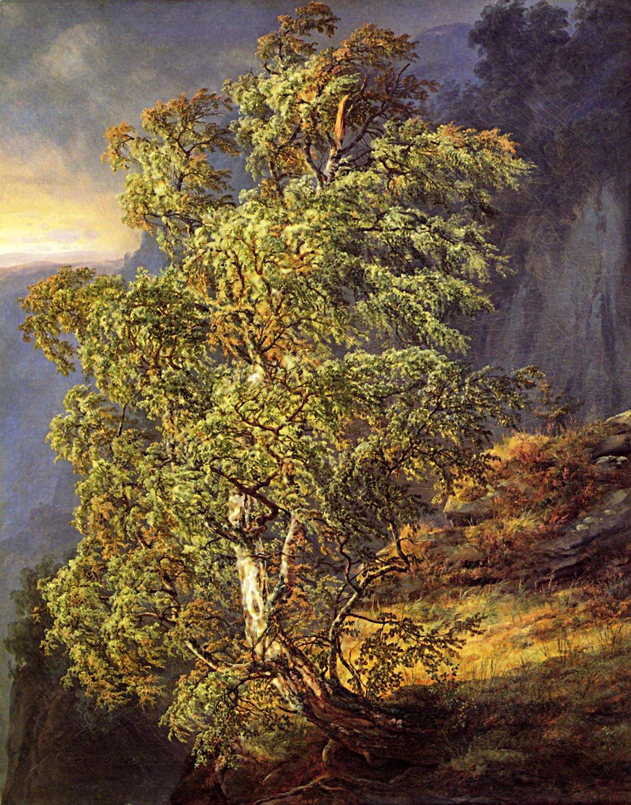 I.C. Dahls 'Birk i Storm'