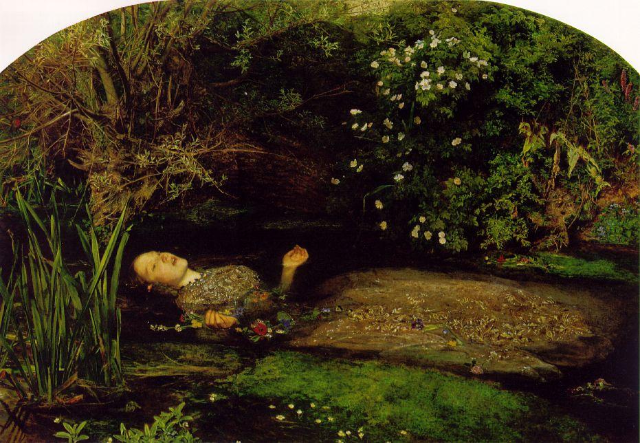 Ophelia, 1851-52, Sir John Everett Millais (1829-96)