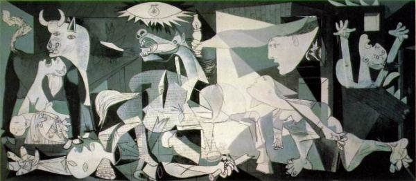 Picasso's painting Guernica (Gernikara), from 1937, is a hommage to the victims of 3/11!