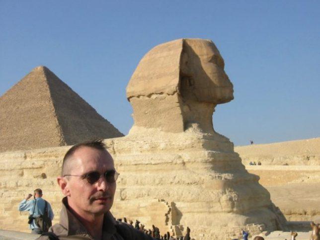 Sphinxen og meg :: Kairo :: desember 2002