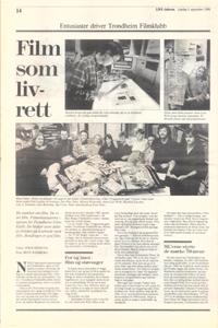 ukeadressa 8. september 1990, venstre side, side 14 © Bent Ramberg (Klikk for større bilde!)
