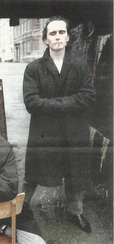 Posering for Uke-Adressa i januar 1992