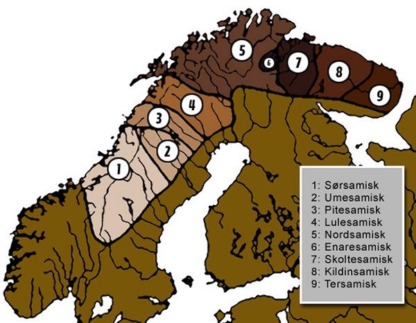 Sámi adapted variants