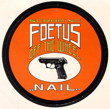The cover of 'Nail' by Foetus