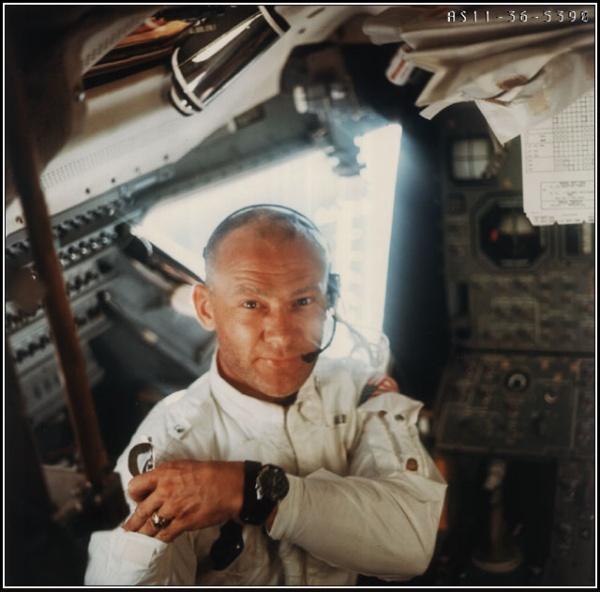 Buzz Aldrin underveis