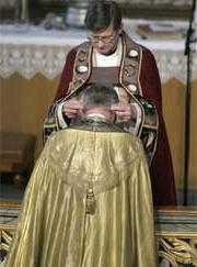 Biskop Kvarme innsettes 3. april (Hva slags rituale er de de holder på med? De praktiserende kristne overrasker igjen!)