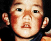 Panchen Lama, kidnapped by the Chinese government